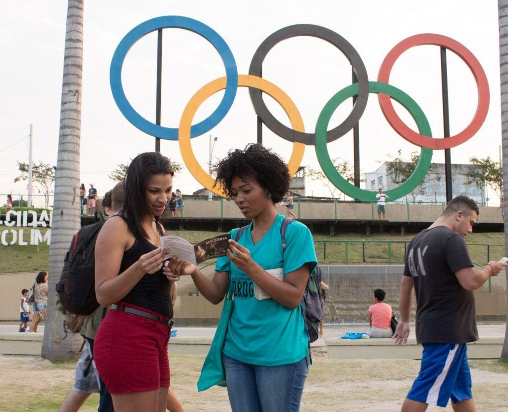 Олимпиада в Рио-де-Жанейро против наркотиков