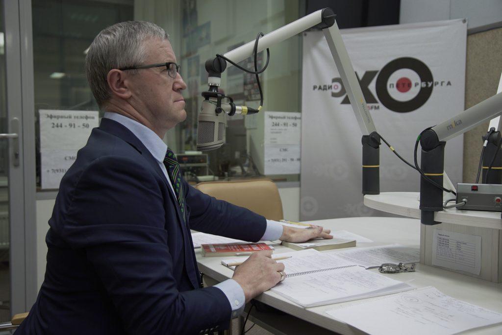 Интервью о саентологии на радио Эхо Москвы в Сантк-Петербурге