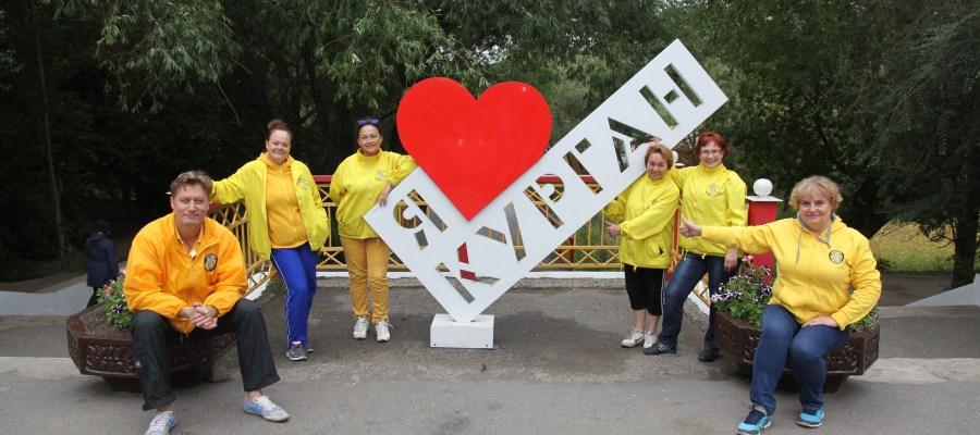 Члены Уральского тура Доброй воли в Кургане