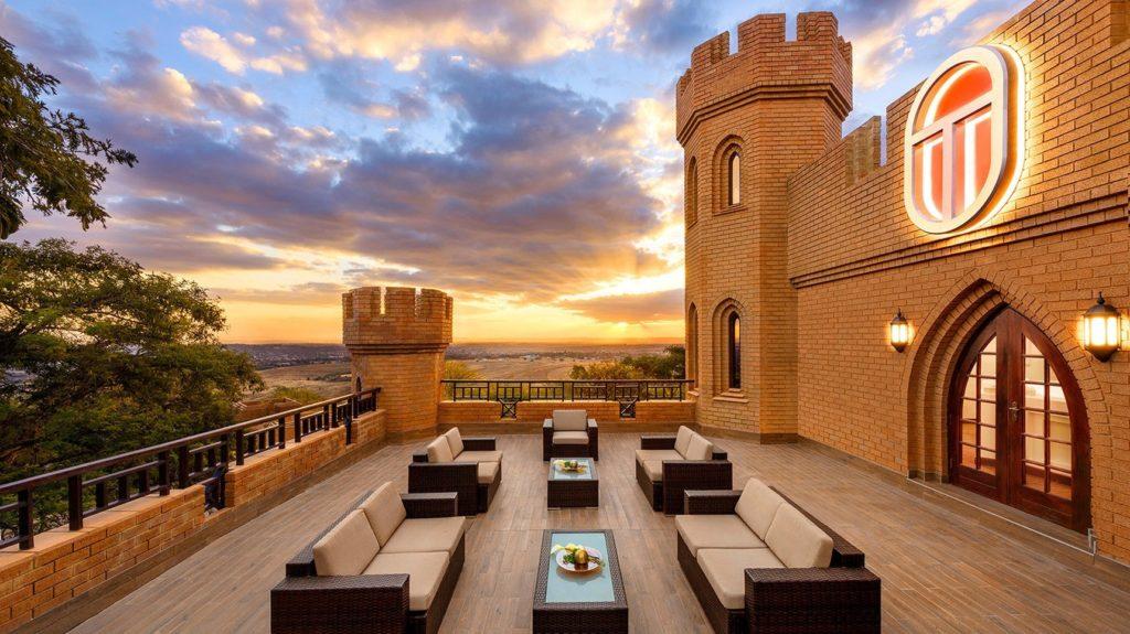 Терраса замка Кальями