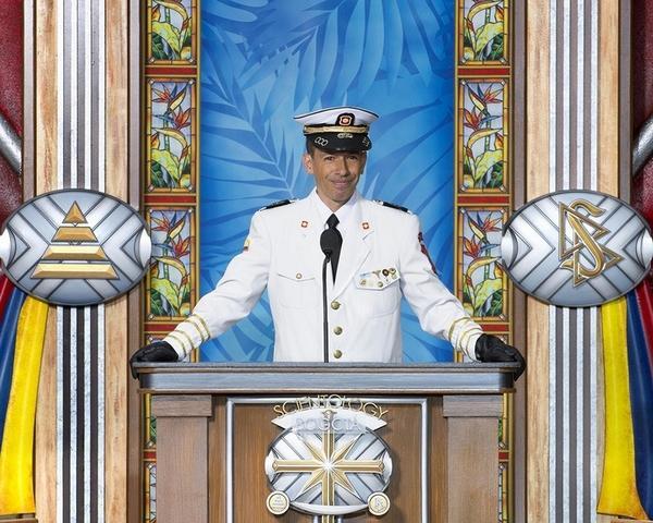 Капитан Джон Галиндо, начальник оперативного отдела общественной организации спасателей Колумбии (CINAT).