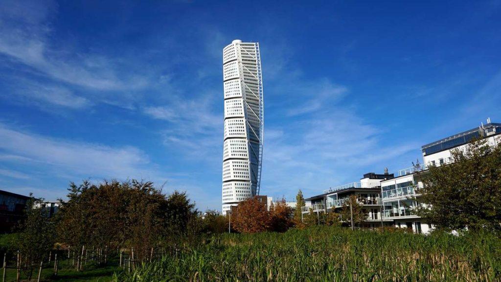 190-метровый жилой небоскреб Turning Torso