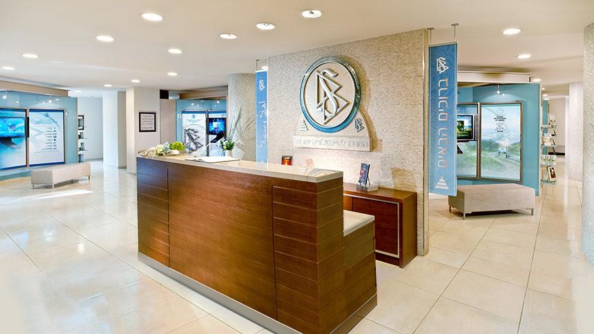 Приёмная саентологического центра в Тель-Авиве