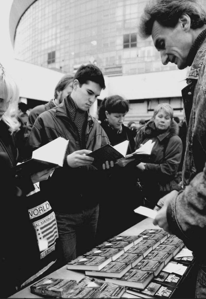 Книга «Дианетика» вызвала интерес людей в Москве