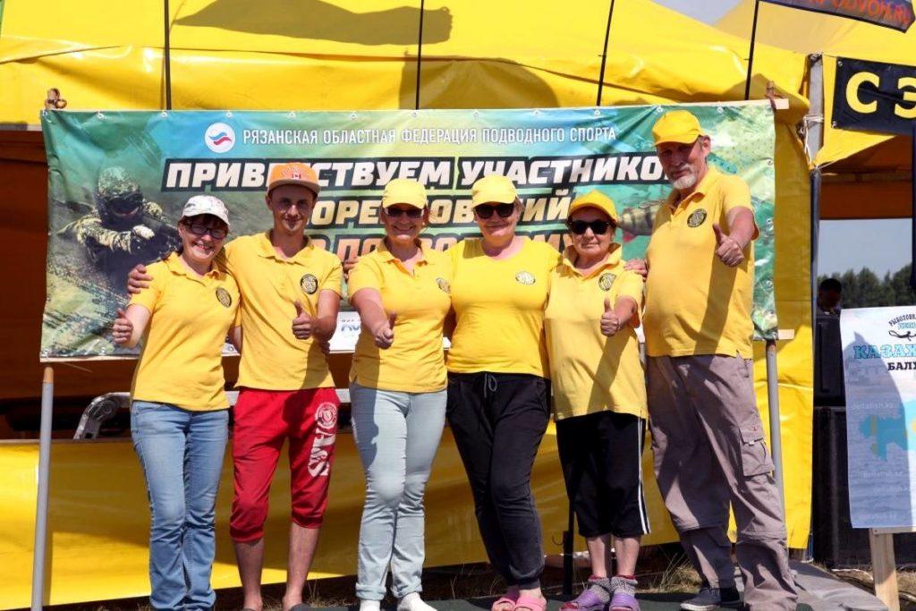 Саентологические волонтеры принесли позитив и ярко-желтое настроение на чемпионат