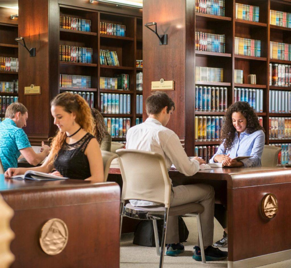 Изучение материалов в библиотеке
