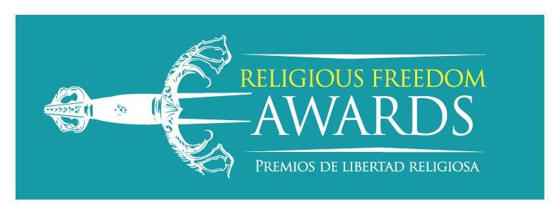 Эмблема награды «За свободу вероисповедания»