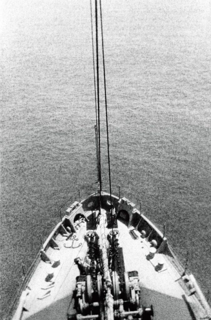 Вид из «вороньего гнезда» корабля «Нитро», 1927 год