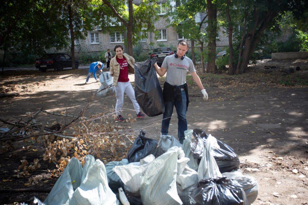 Когда лето прошло не зря, или <br>Как саентологи помогают своим городам
